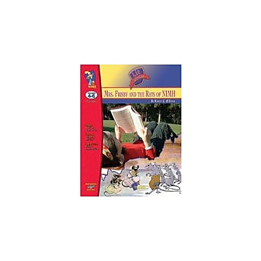 On The Mark Press Mrs. Frisby and the Rats of Nimh Lit Link: Novel Study Guide Language Arts Workbook, Grade 4 - Grade 6 [eBook]