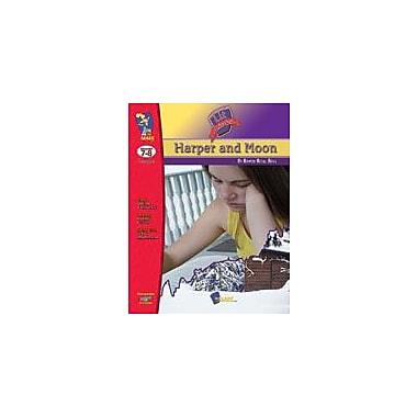 On The Mark Press Harper Moon Lit Link: Novel Study Guide Language Arts Workbook, Grade 7 - Grade 8 [eBook]