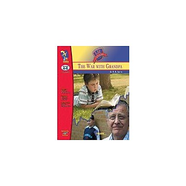 On The Mark Press War With Grandpa, the Lit Link: Novel Study Guide Language Arts Workbook, Grade 4 - Grade 6 [eBook]