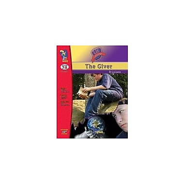 On The Mark Press Giver, the Lit Link: Novel Study Guide Language Arts Workbook, Grade 7 - Grade 8 [eBook]