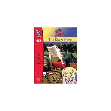 On The Mark Press Egypt Game Lit Link: Novel Study Guide Language Arts Workbook, Grade 4 - Grade 6 [eBook]