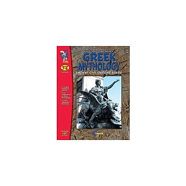 On The Mark Press Greek Mythology: Tales of the Gods Social Studies Workbook, Grade 7 - Grade 8 [eBook]