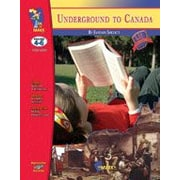 On The Mark Press ? Cahier d?ex. Lit Links Underground to Canada: Novel Study Guide Language Arts, 4e à 6e année [livre num.]