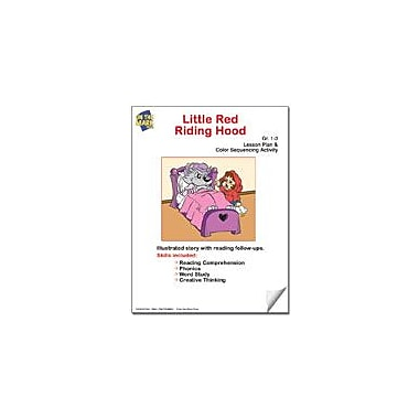 On The Mark Press Little Red Riding Hood Lesson Plan and Color Sequencing Activity Workbook, Grade 1 - Grade 3 [eBook]