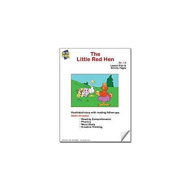 On The Mark Press The Little Red Hen Lesson Plan Reading & Writing Workbook, Grade 1 - Grade 3 [eBook]
