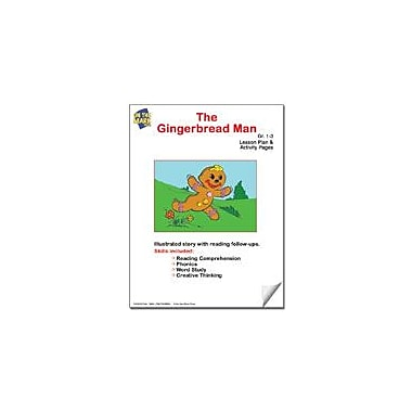 On The Mark Press The Gingerbread Man Lesson Plan Reading & Writing Workbook, Grade 1 - Grade 3 [eBook]