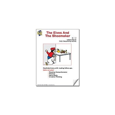 On The Mark Press The Elves and the Shoemaker Lesson Plan and Color Sequencing Activity Workbook, Grade 1 - Grade 3 [eBook]