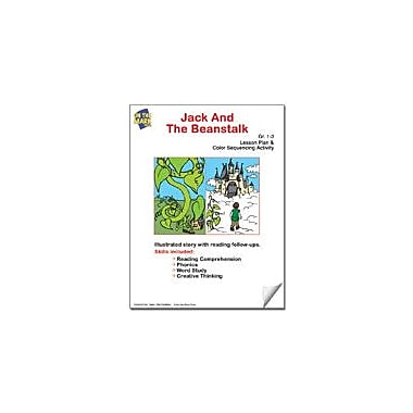 On The Mark Press Jack and the Beanstalk Lesson Plan and Color Sequencing Activity Workbook, Grade 1 - Grade 3 [eBook]