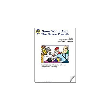 On The Mark Press Snow White and the Seven Dwarfs Fairy Tale Lesson Using Bloom's Taxonomy Workbook, Grade 3 - Grade 5 [eBook]