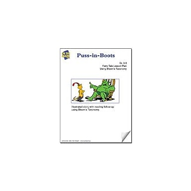 On The Mark Press Puss-In-Boots Fairy Tale Lesson Using Bloom's Taxonomy Problem Solving Workbook, Grade 3 - Grade 5 [eBook]