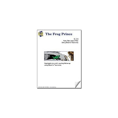 On The Mark Press The Frog Prince Fairy Tale Lesson Using Bloom's Taxonomy Problem Solving Workbook, Grade 3 - Grade 5 [eBook]