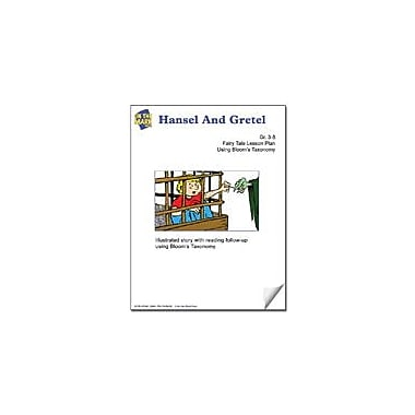 On The Mark Press Hansel and Gretel Fairy Tale Lesson Using Bloom's Taxonomy Problem Solving Workbook, Grade 3 - Grade 5 [eBook]