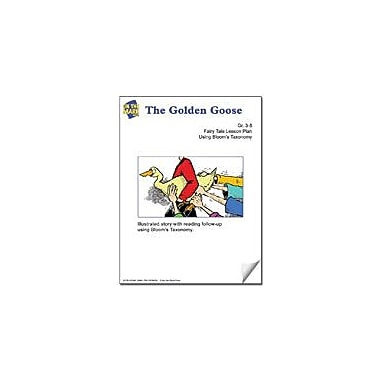 On The Mark Press The Golden Goose Fairy Tale Lesson Using Bloom's Taxonomy Problem Solving Workbook, Grade 3 - Grade 5 [eBook]