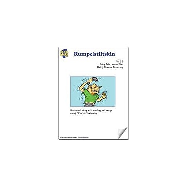 On The Mark Press Rumpelstiltskin Fairy Tale Lesson Using Bloom's Taxonomy Problem Solving Workbook, Grade 3 - Grade 5 [eBook]