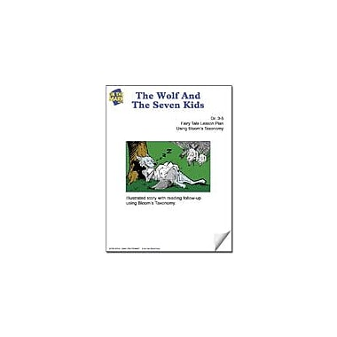 On The Mark Press The Wolf and the Seven Kids Fairy Tale Lesson Using Bloom's Taxonomy Workbook, Grade 3 - Grade 5 [eBook]