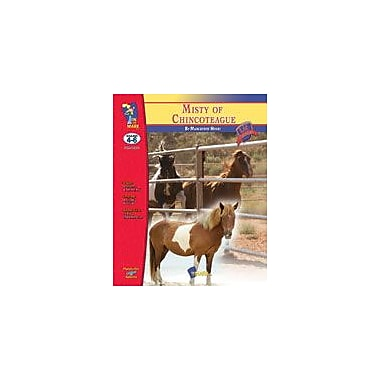 On The Mark Press Misty of Chincoteague Lit Link: Novel Study Guide Language Arts Workbook, Grade 4 - Grade 6 [Enhanced eBook]