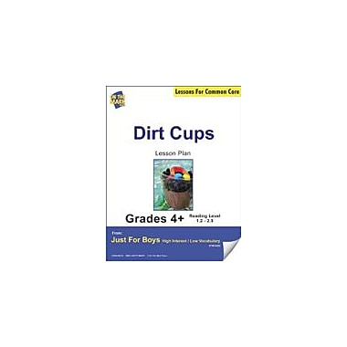 On The Mark Press Dirt Cups (Fiction, Social Network Style) Grade Level 2.9 Aligned to Common Core E-Lesson Plan [eBook]