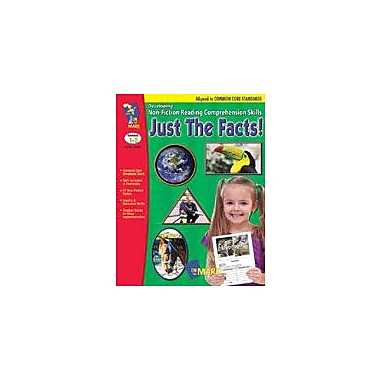 On The Mark Press Just the Facts! Developing Non-Fiction Reading Skills Common Core Version Workbook, Grade 1 - Grade 3 [eBook]