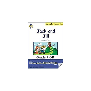 On The Mark Press Jack and Jill Literacy Building Nursery Rhyme Aligned to Common Core Workbook [eBook]