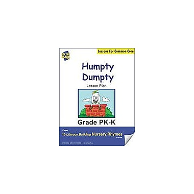 On The Mark Press Humpty Dumpty Literacy Building Nursery Rhyme Aligned to Common Core Workbook [eBook]