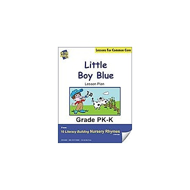 On The Mark Press Little Boy Blue Literacy Building Nursery Rhyme Aligned to Common Core Workbook [eBook]