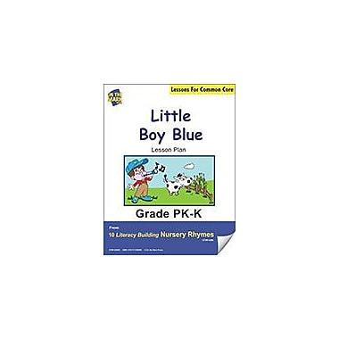 On The Mark Press Little Boy Blue Literacy Building Nursery Rhyme Aligned to Common Core Workbook [eBook]
