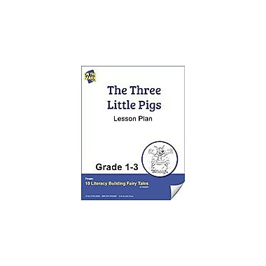 On The Mark Press The Three Little Pigs Aligned to Common Core (Elesson Plan) Workbook, Grade 1 - Grade 3 [eBook]