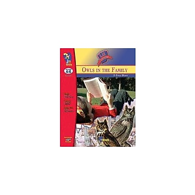 On The Mark Press Owls In the Family Lit Link: Novel Study Guide Language Arts Workbook, Grade 4 - Grade 6 [eBook]