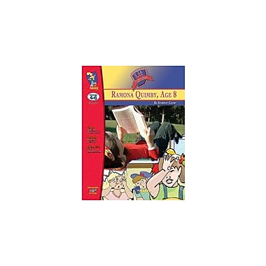 On The Mark Press Ramona Quimby, Age 8 Lit Link: Novel Study Guide Language Arts Workbook, Grade 4 - Grade 6 [eBook]