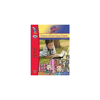 On The Mark Press Tales of the 4th Grade Nothing Lit Link Gr. 4-6: Novel Study Guide Workbook, Grade 4 - Grade 6 [eBook]