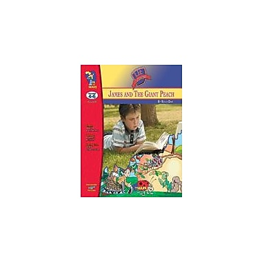 On The Mark Press James and the Giant Peach Lit Link Gr. 4-6: Novel Study Guide Workbook, Grade 4 - Grade 6 [eBook]
