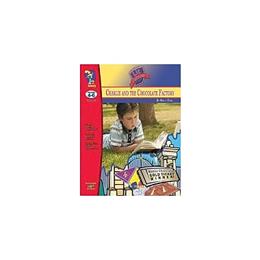 On The Mark Press Charlie and the Chocolate Factory Lit Link Gr. 4-6: Novel Study Guide Workbook, Grade 4 - Grade 6 [eBook]