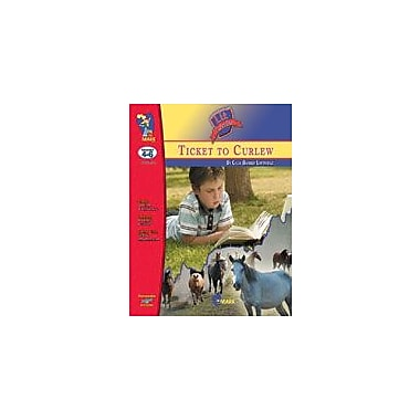On The Mark Press Ticket to Curlew, A Lit Link Gr. 4-6: Novel Study Guide Language Arts Workbook, Grade 4 - Grade 6 [eBook]