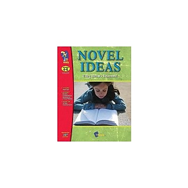 On The Mark Press Novel Ideas With Blooms Taxonomy! Gr. 4-6 Language Arts Workbook, Grade 4 - Grade 6 [Enhanced eBook]