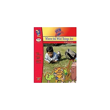 On The Mark Press Where the Wild Things Are Lit Link: Novel Study Guide Language Arts Workbook, Grade 1 - Grade 3 [eBook]