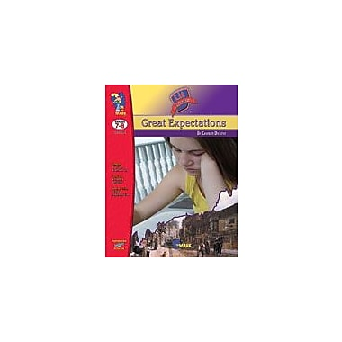 On The Mark Press Great Expectations Lit Link: Novel Study Guide Language Arts Workbook, Grade 7 - Grade 8 [eBook]