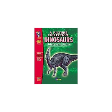 On The Mark Press Dinosaurs B/W Picture Collection Science Workbook, Preschool - Grade 8 [eBook]