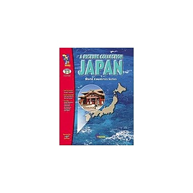 On The Mark Press Japan B/W Picture Collection Social Studies Workbook, Preschool - Grade 8 [eBook]