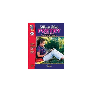 On The Mark Press How to Write Poetry and Stories Language Arts Workbook, Grade 4 - Grade 6 [eBook]