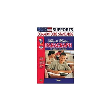 On The Mark Press How to Write A Paragraph Gr. 5-10 Language Arts Workbook, Grade 5 - Grade 10 [eBook]