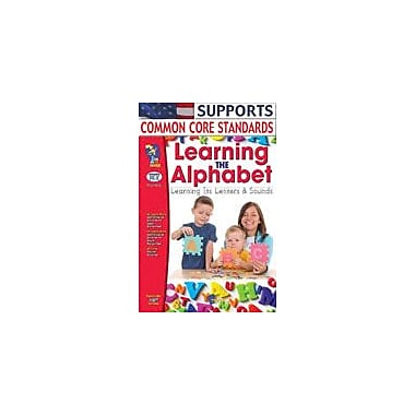 On The Mark Press Learning the Alphabet Reading & Writing Workbook, Preschool - Kindergarten [eBook]