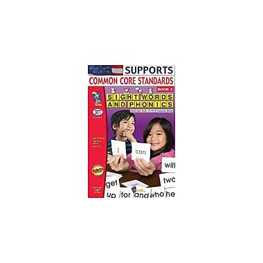 On The Mark Press Sight Words and Phonics Book 3 Reading & Writing Workbook, Kindergarten - Grade 1 [eBook]