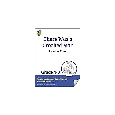 On The Mark Press There Was A Crooked Man Lesson Plan Reading & Writing Workbook, Grade 1 - Grade 3 [eBook]