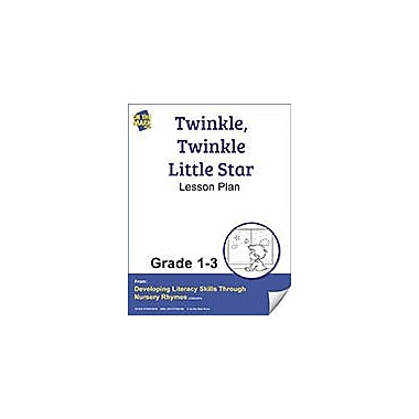 On The Mark Press Twinkle, Twinkle Little Star Lesson Plan Reading & Writing Workbook, Grade 1 - Grade 3 [eBook]