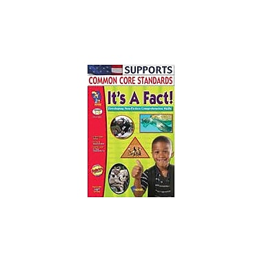 On The Mark Press It's A Fact! Non-Fiction Reading Comprehension Language Arts Workbook, Grade 1 - Grade 3 [Enhanced eBook]