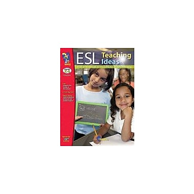 On The Mark Press ESL Teaching Ideas Gr. K-8 Language Arts Workbook, Kindergarten - Grade 8 [eBook]