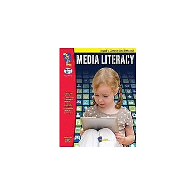 On The Mark Press Media Literacy Aligned to Common Core: Kindergarten-Grade 1 Workbook, Kindergarten - Grade 1 [eBook]