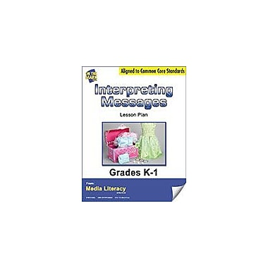 On The Mark Press Interpreting Messages Lesson Plan Social Studies Workbook, Kindergarten - Grade 1 [eBook]