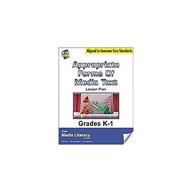 On The Mark Press Appropriate Forms of Media Text Lesson Plan Social Studies Workbook, Kindergarten - Grade 1 [eBook]