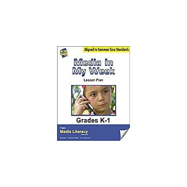 On The Mark Press Media In My Week Survey Lesson Plan Social Studies Workbook, Kindergarten - Grade 1 [eBook]